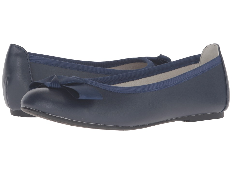 Pazitos - Firefly BF PU (Little Kid/Big Kid) (Navy 1) Girls Shoes