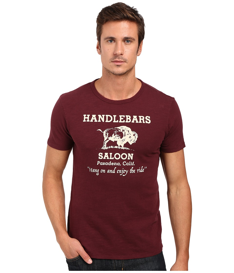Lucky Brand - Handlebars Graphic Tee (Port Royale) Men's T Shirt