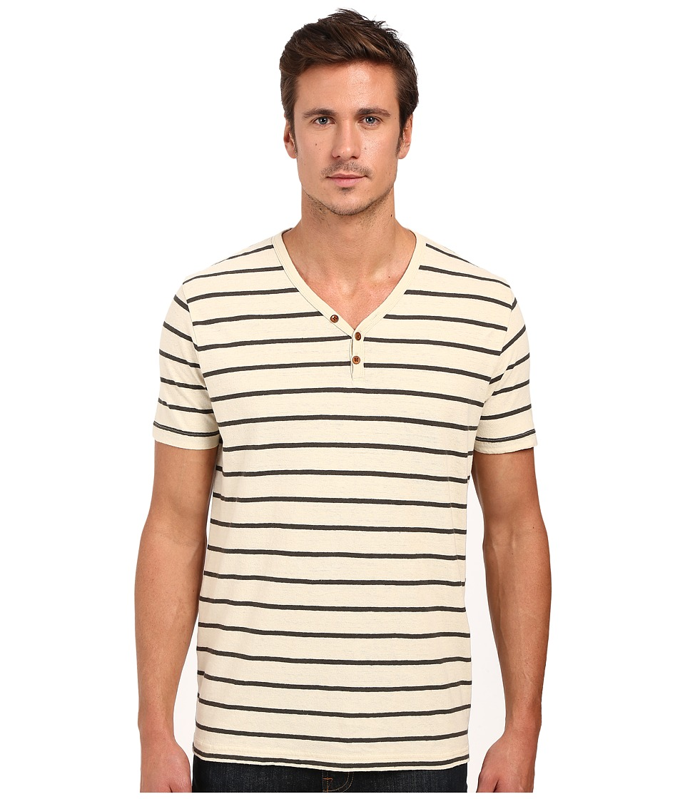 Lucky Brand - Salt Point Y-Neck Tee (Multi) Men's T Shirt