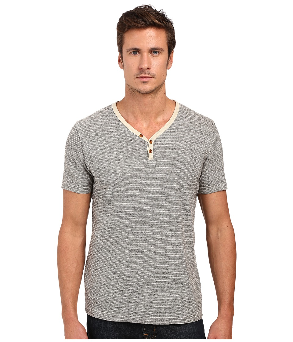 Lucky Brand Salt Point Y-Neck Tee (Multi) Men
