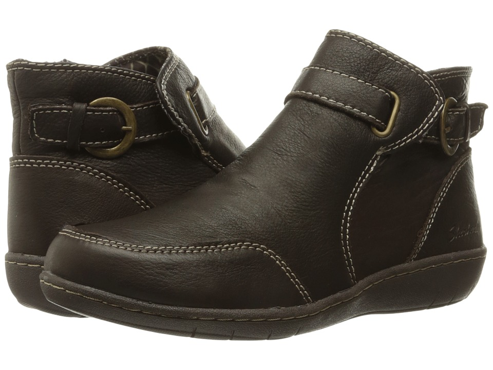 SKECHERS Washington Spokane (Chocolate) Women