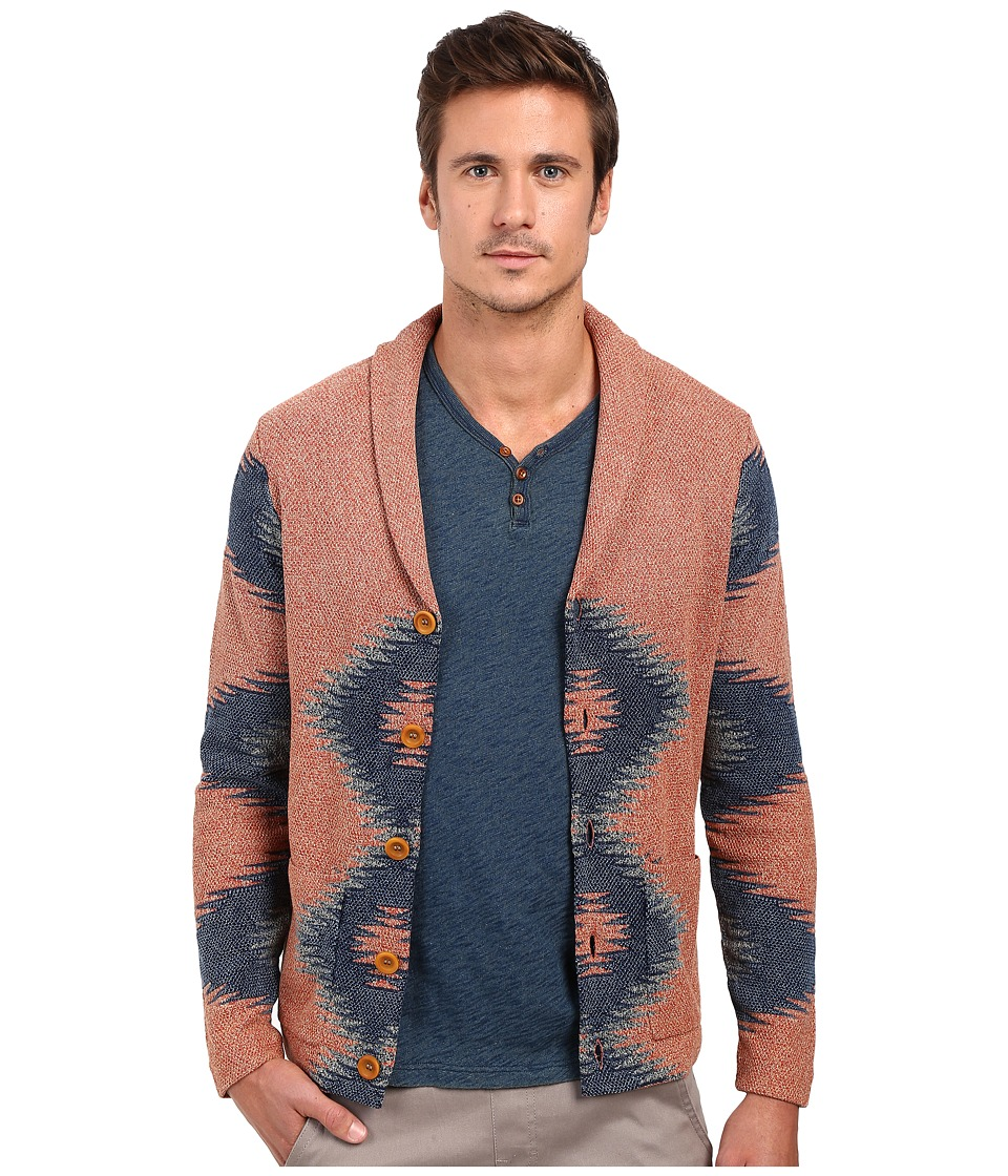 Lucky Brand Novelty Intarsia Sweater (Multi) Men