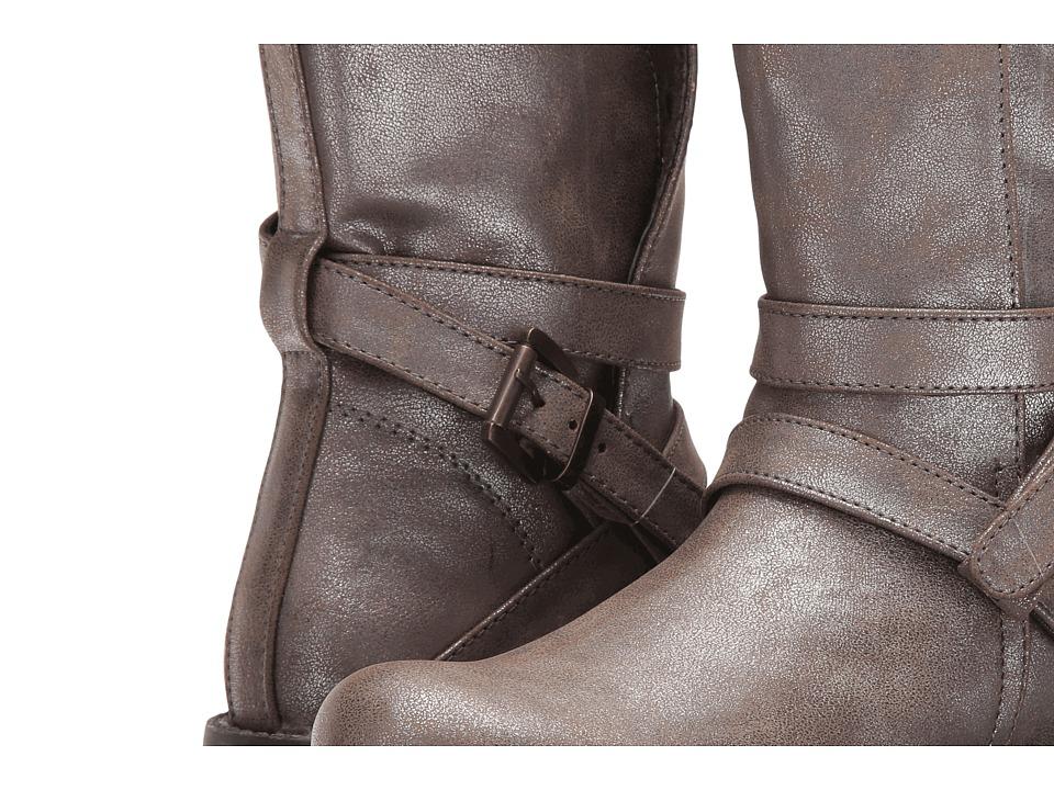 Pazitos - Ziggy Bootie PU (Little Kid/Big Kid) (Taupe) Girls Shoes