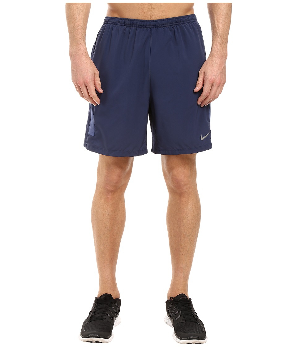 Nike - Flex 7 Running Short (Midnight Navy/Reflective Silver) Men's Shorts
