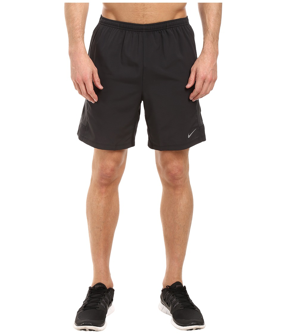 Nike - Flex 7 Running Short (Black/Anthracite/Reflective Silver) Men's Shorts