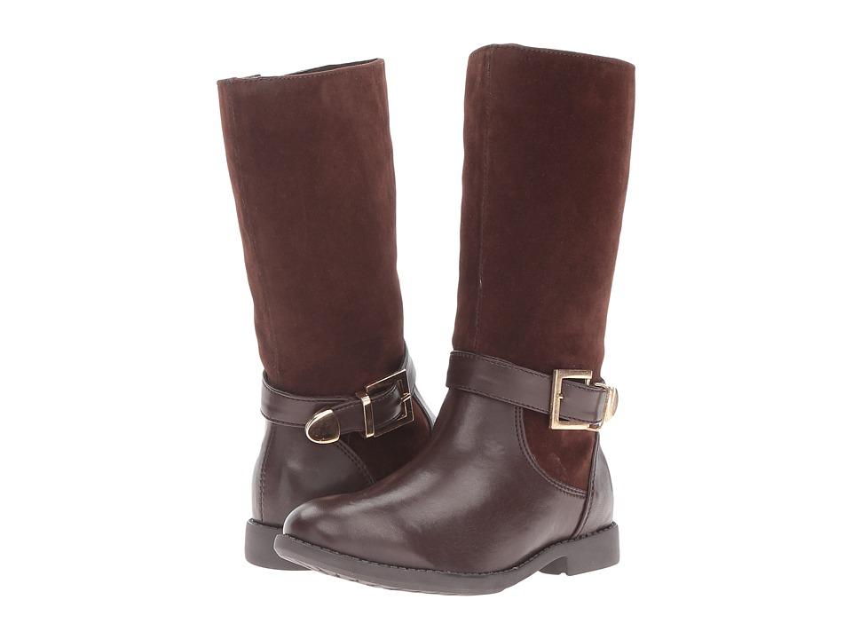 Pazitos - Trooper Boot PU (Little Kid/Big Kid) (Brown) Girls Shoes