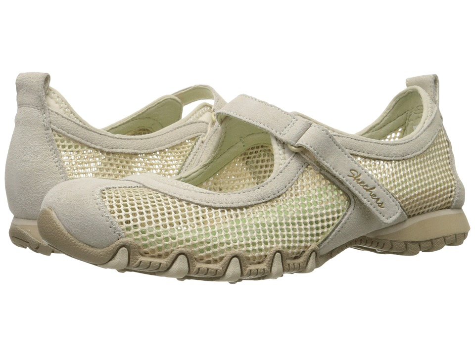 SKECHERS - Bikers - Herb Garden (Natural) Women's Maryjane Shoes