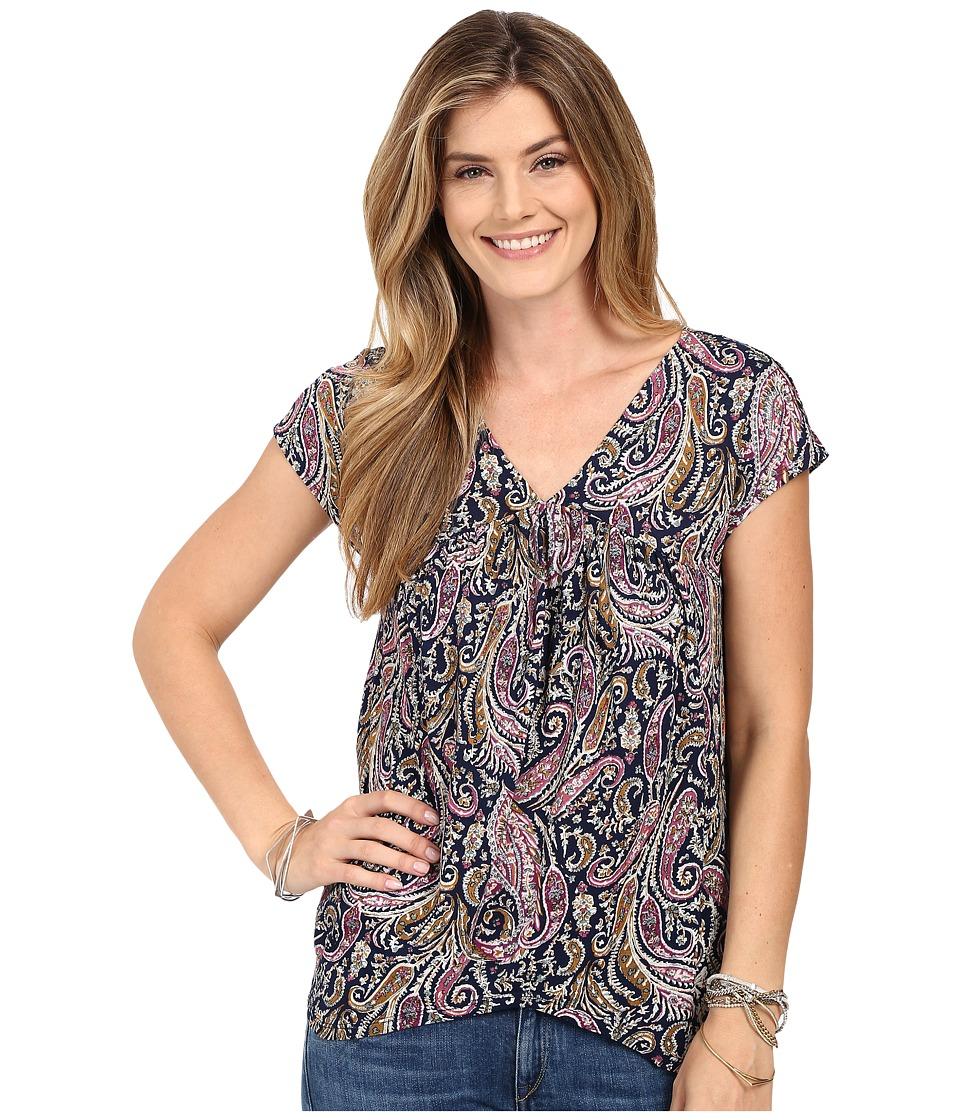 Lucky Brand - Paisley Top (Multi) Women's Blouse