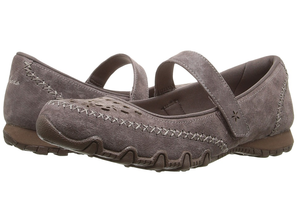 SKECHERS - Bikers - Involved (Brown) Women's Maryjane Shoes