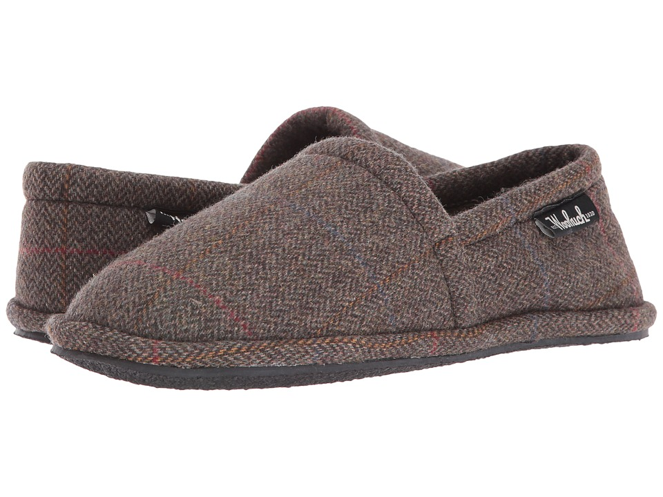 Woolrich - Chatham Chill (Tweed Wool) Men's Slippers