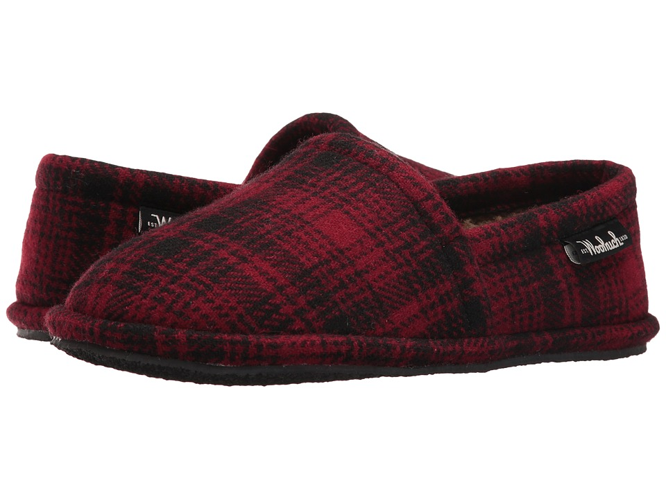 Woolrich - Chatham Chill (Red Hunting Plaid Wool) Men's Slippers