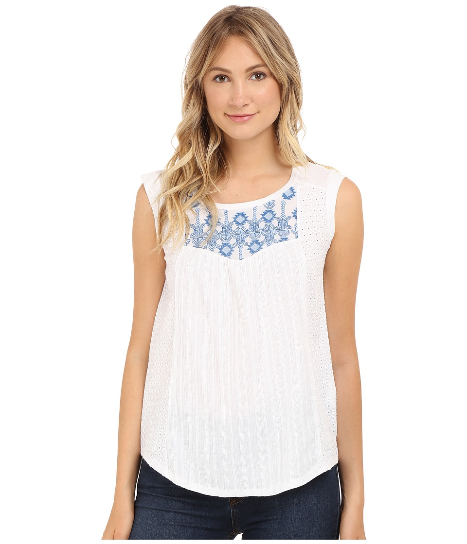 Lucky Brand - Washed Knit Top (Multi) Women's Clothing