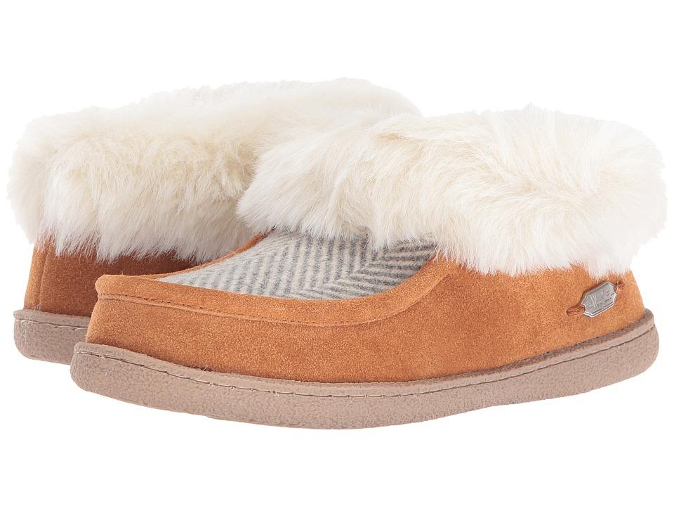 Woolrich - Autumn Ridge (Herringbone Wool/Spice) Women's Slippers