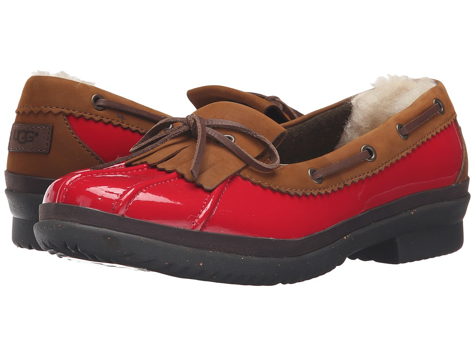 UGG - Haylie (Red) Women's Slip on Shoes