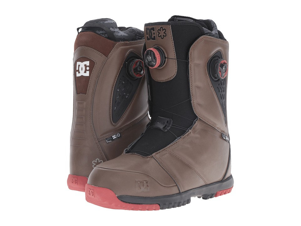 DC - Judge Boot (Dark Brown) Men's Cold Weather Boots