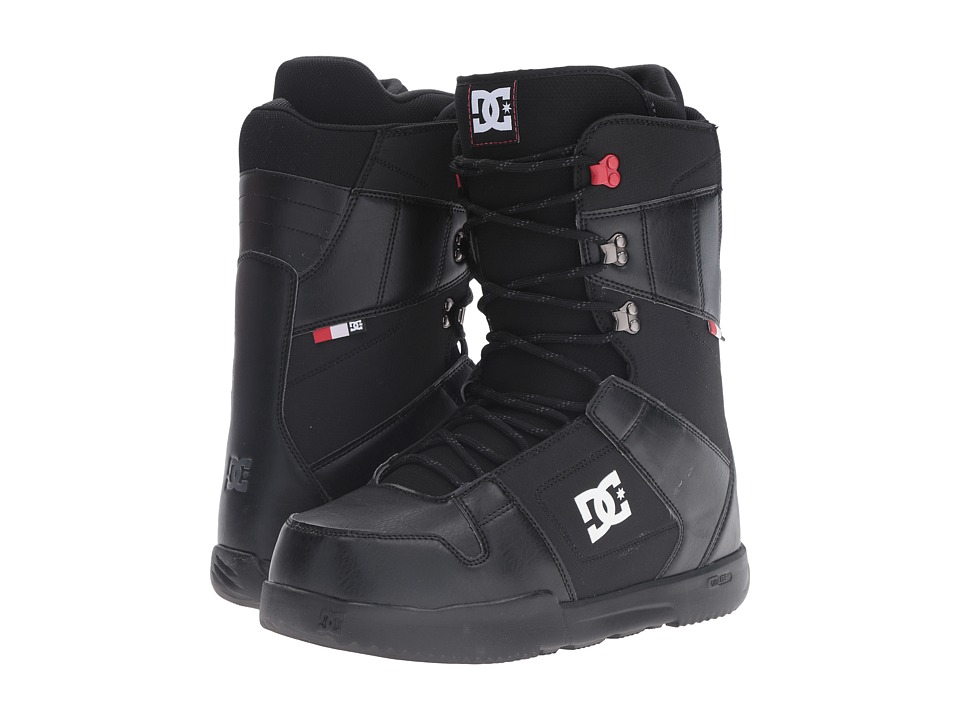 DC - Phase Boot (Black/Red) Men's Cold Weather Boots