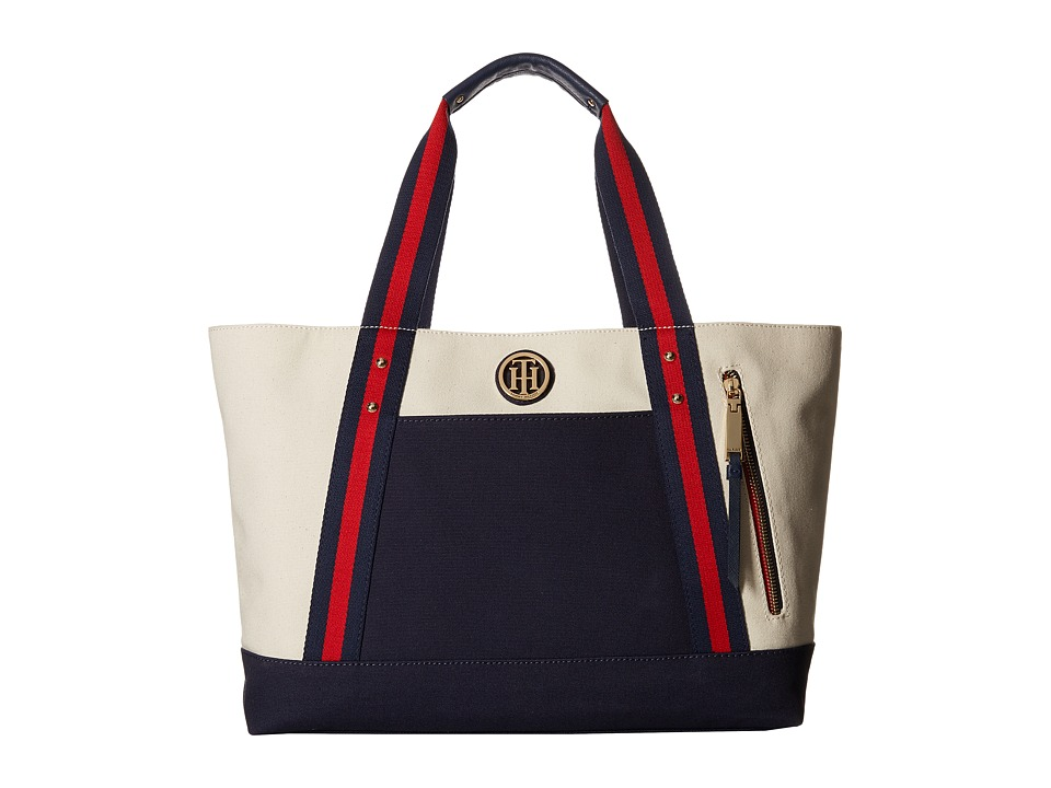Tommy Hilfiger - Turn Tote (Natural) Tote Handbags