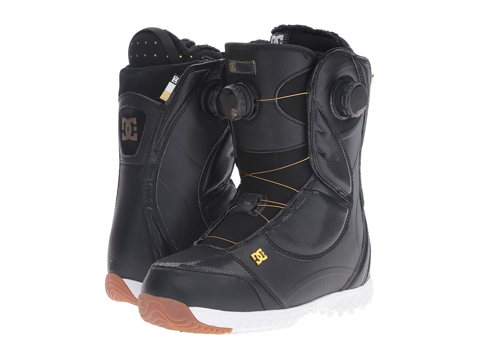 DC - Mora Boot (Black/Gold) Women's Cold Weather Boots