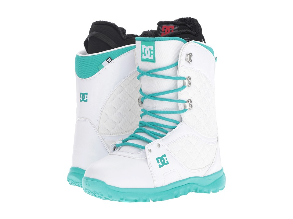 DC - Karma Boot (White) Women's Cold Weather Boots