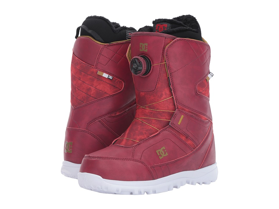 DC - Search Boot (Maroon) Women's Cold Weather Boots