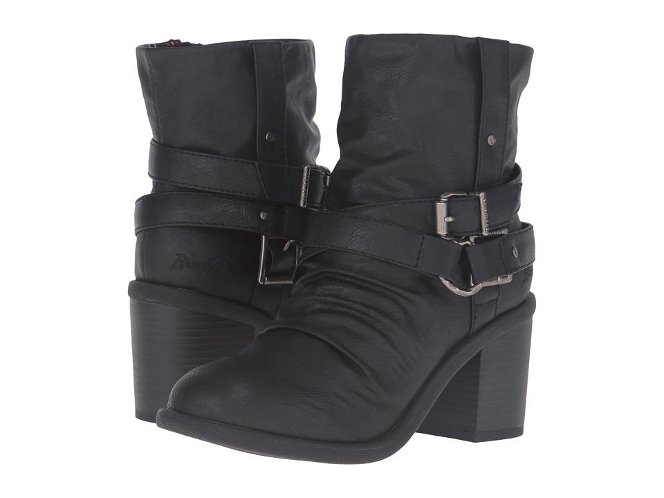 Blowfish - Moran (Black Old Ranger PU) Women's Pull-on Boots