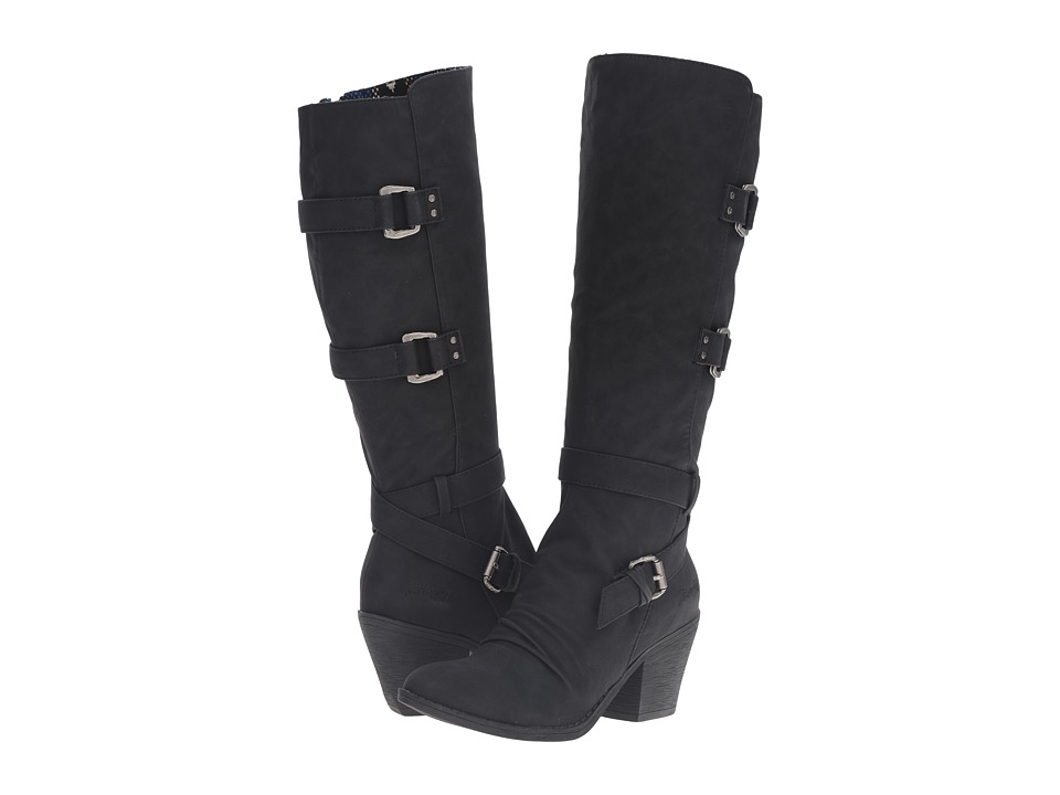 Blowfish - Stay (Black Texas PU) Women's Zip Boots
