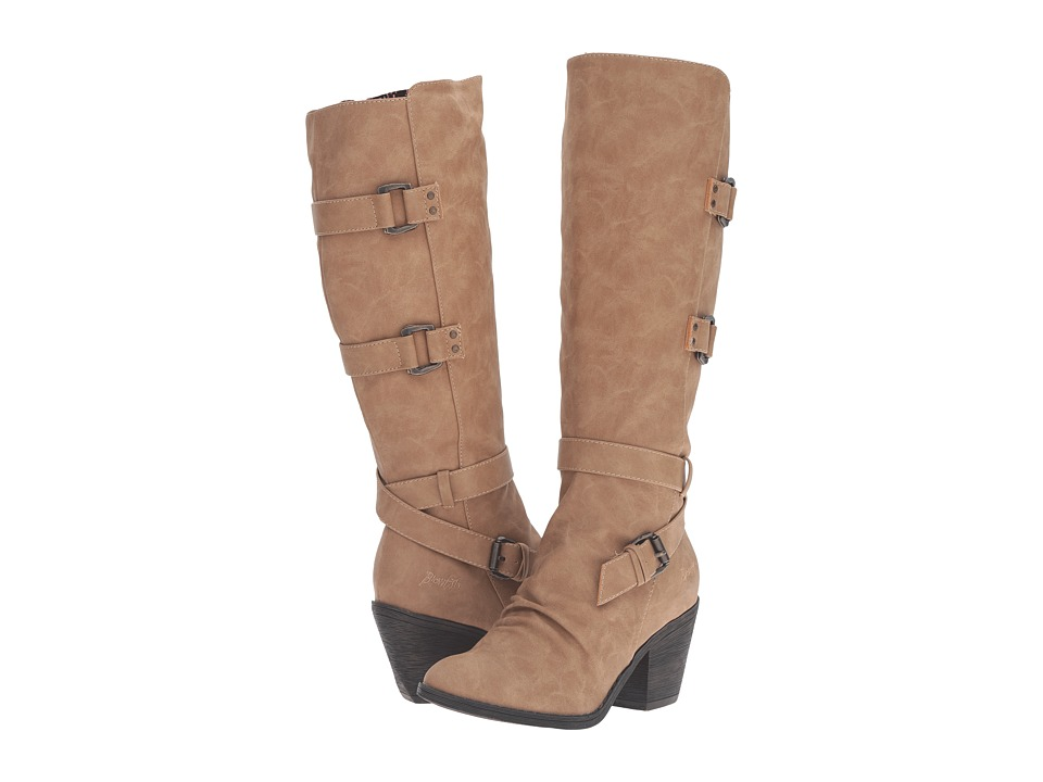 Blowfish - Stay (Sand Texas PU) Women's Zip Boots