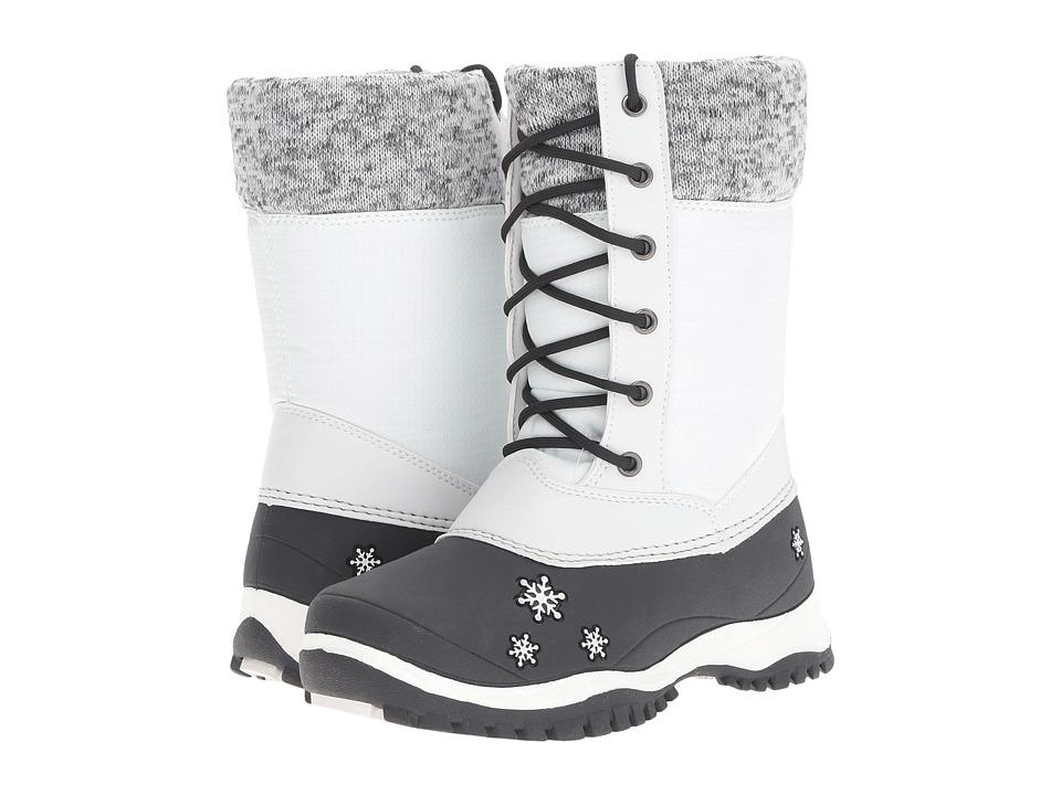 Baffin Kids Avery (Little Kid) (White) Girls Shoes