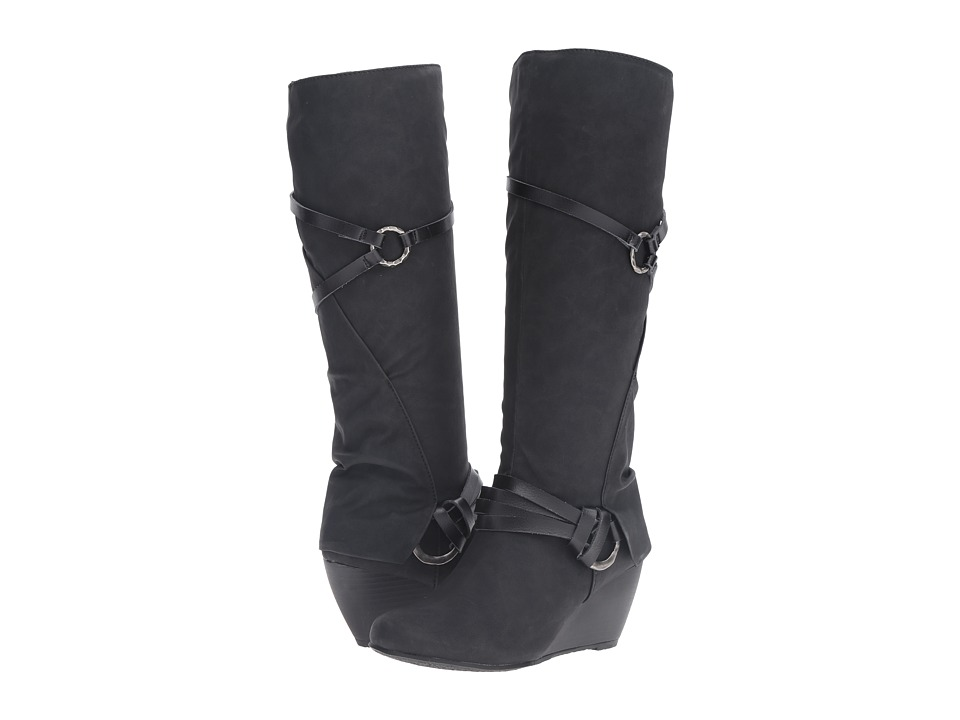Blowfish - Board (BlackTexas PU/ Dyecut PU) Women's Pull-on Boots
