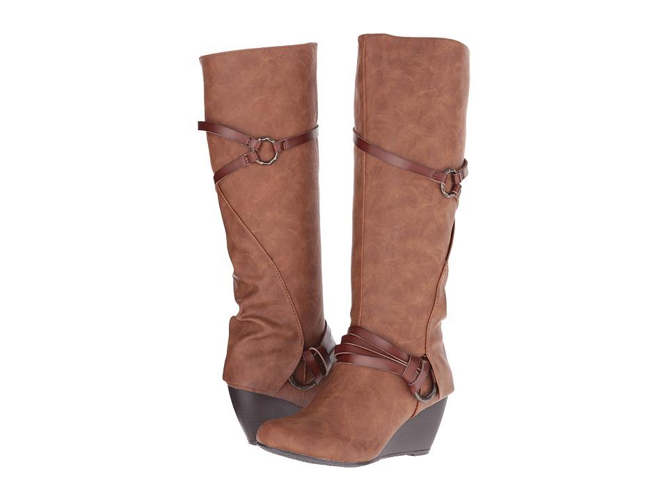 Blowfish - Board (Whiskey Texas/ Dyecut PU) Women's Pull-on Boots