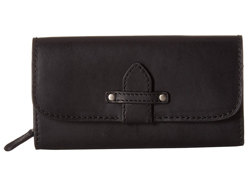 Frye - Casey Wallet (Black) Wallet
