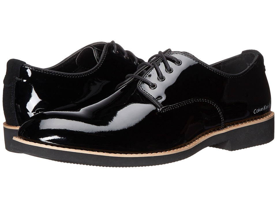 Calvin Klein Jeans - Chaz (Black Patent Smooth) Men's Shoes