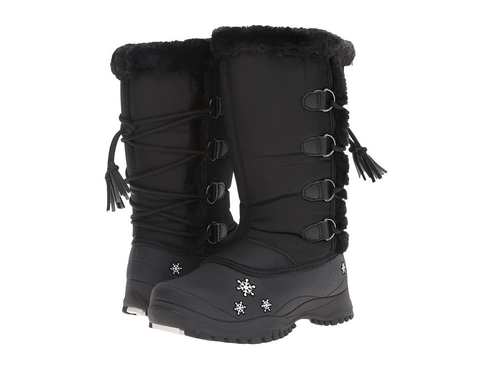 Baffin Kids Mia (Little Kid) (Black) Girls Shoes