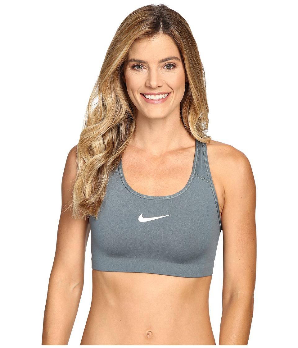 Nike - Pro Classic Swoosh Sports Bra (Hasta/White) Women's Bra