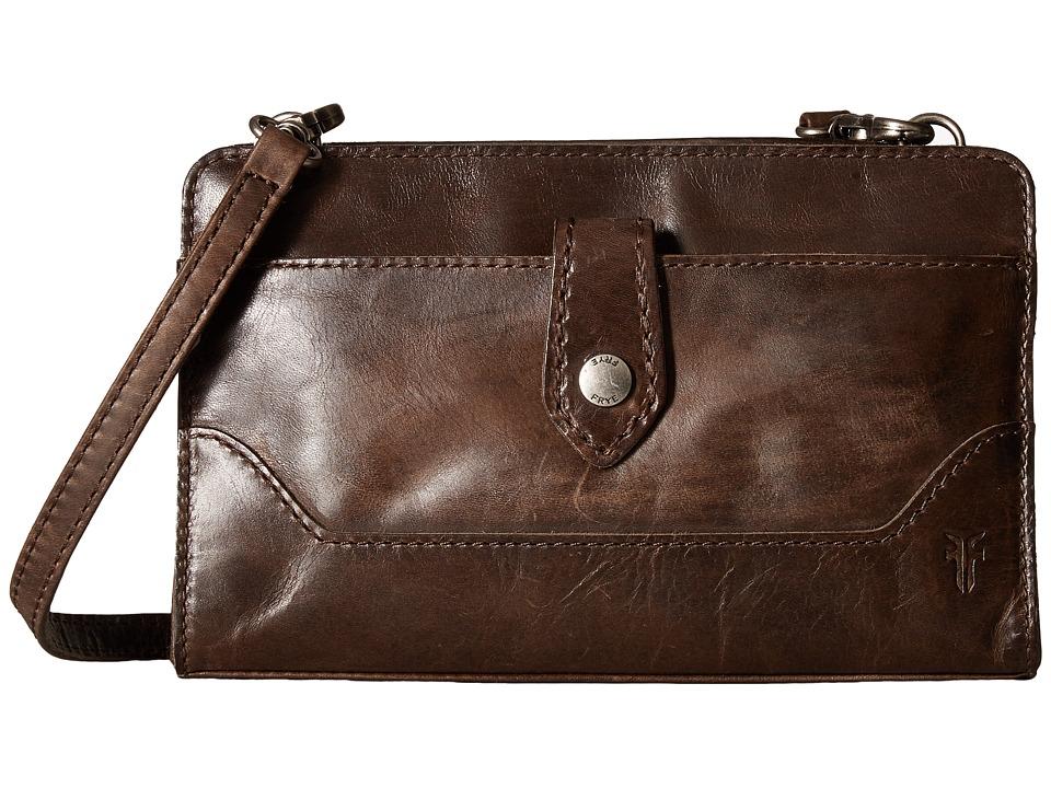 Frye - Melissa Crossbody Clutch (Slate) Cross Body Handbags