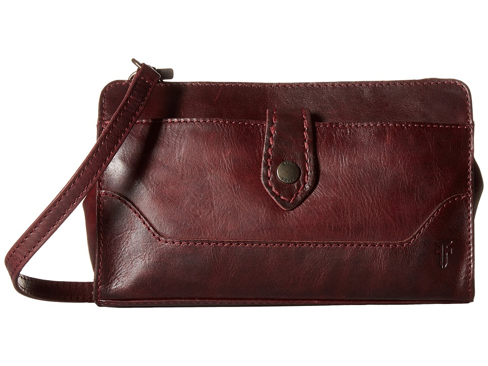 Frye - Melissa Crossbody Clutch (Wine) Cross Body Handbags