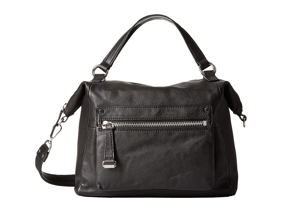 Frye - Natalie Moto Shoulder Bag (Black) Shoulder Handbags