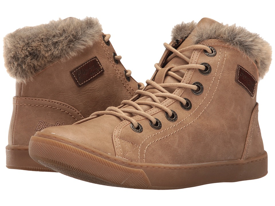 Blowfish - Perl Shearling (Sand Texas PU) Women's Lace up casual Shoes