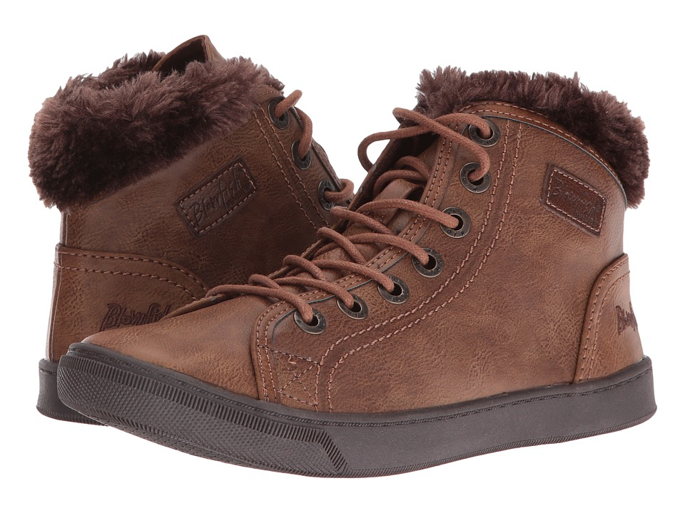 Blowfish - Perl Shearling (Whiskey Old Ranger PU) Women's Lace up casual Shoes