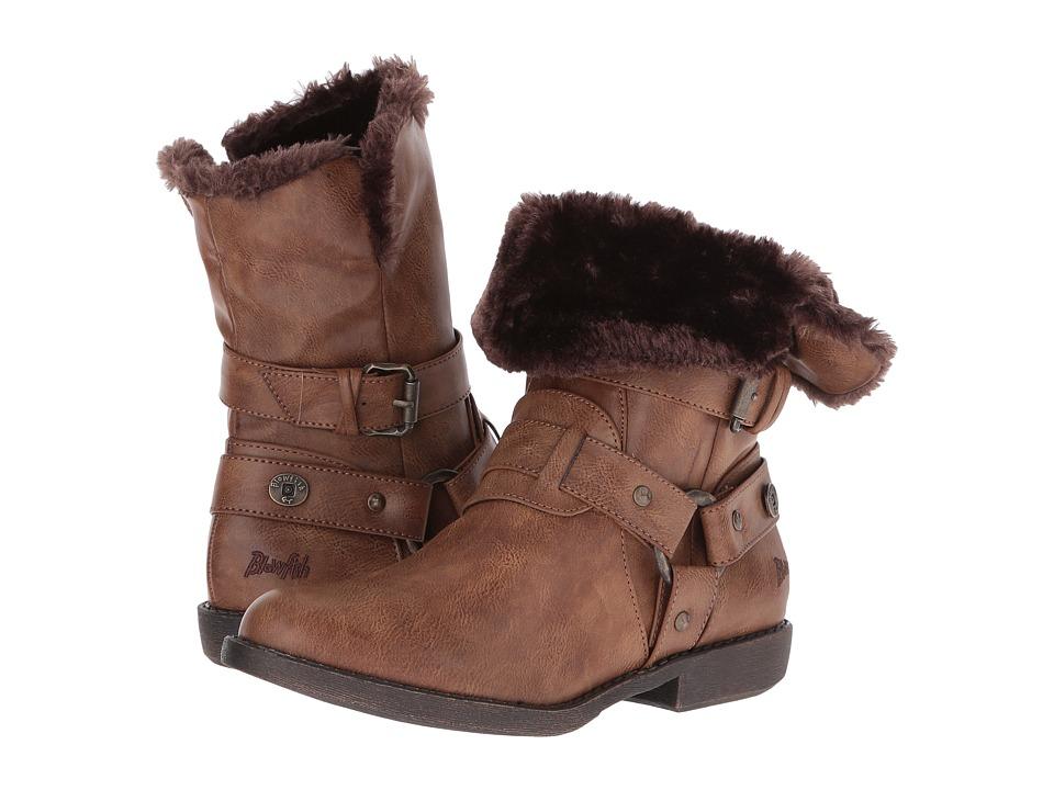 Blowfish - Afia SHR (Whiskey Old Ranger PU) Women's Pull-on Boots