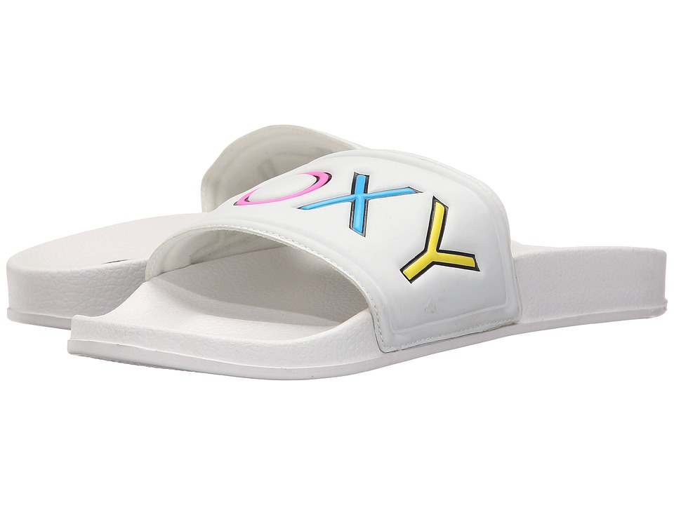 Roxy - Slippy (White) Women's Sandals