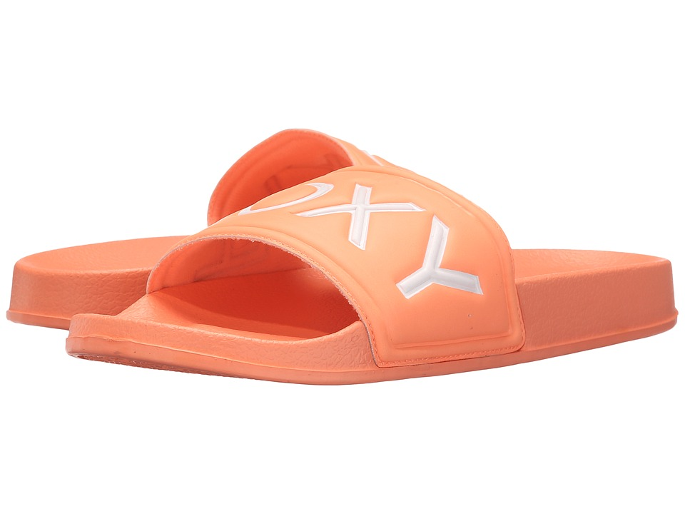 Roxy - Slippy (Coral) Women's Sandals