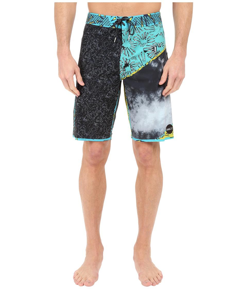 O'Neill - Jordy Hyperfreak Hydro Boardshorts (Turquoise) Men's Swimwear