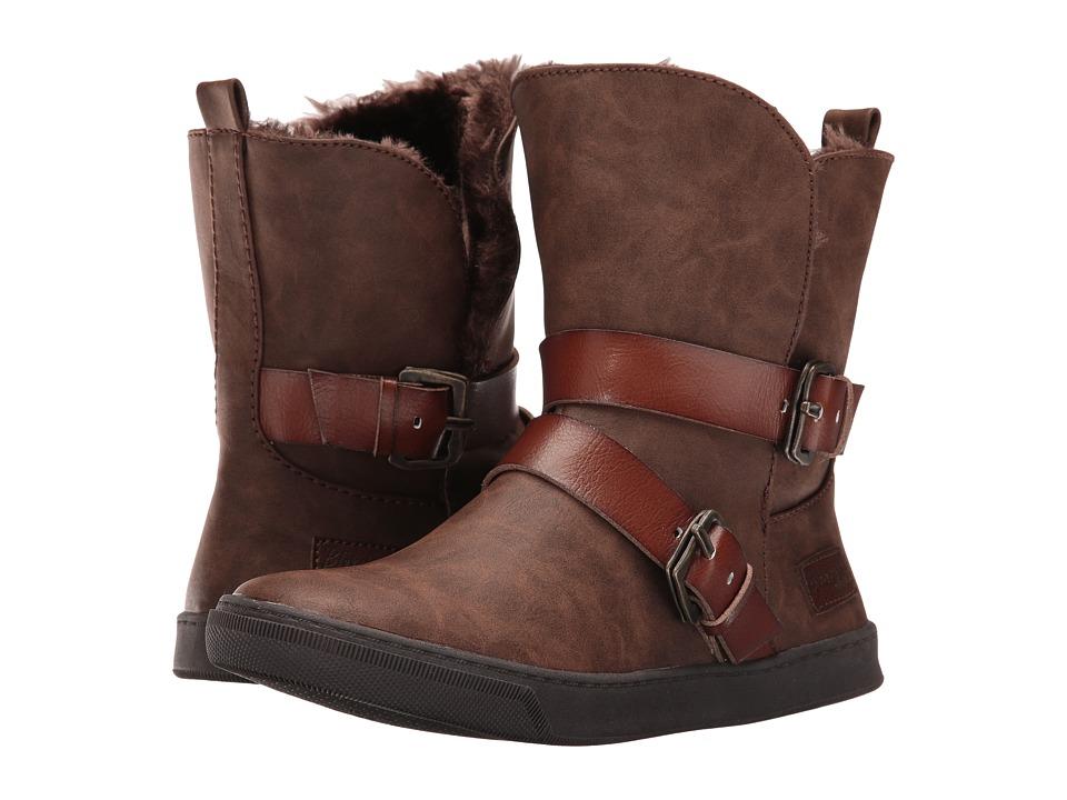 Blowfish - Pembe SHR (Coffee Texas PU/Whiskey Dyecut PU) Women's Pull-on Boots