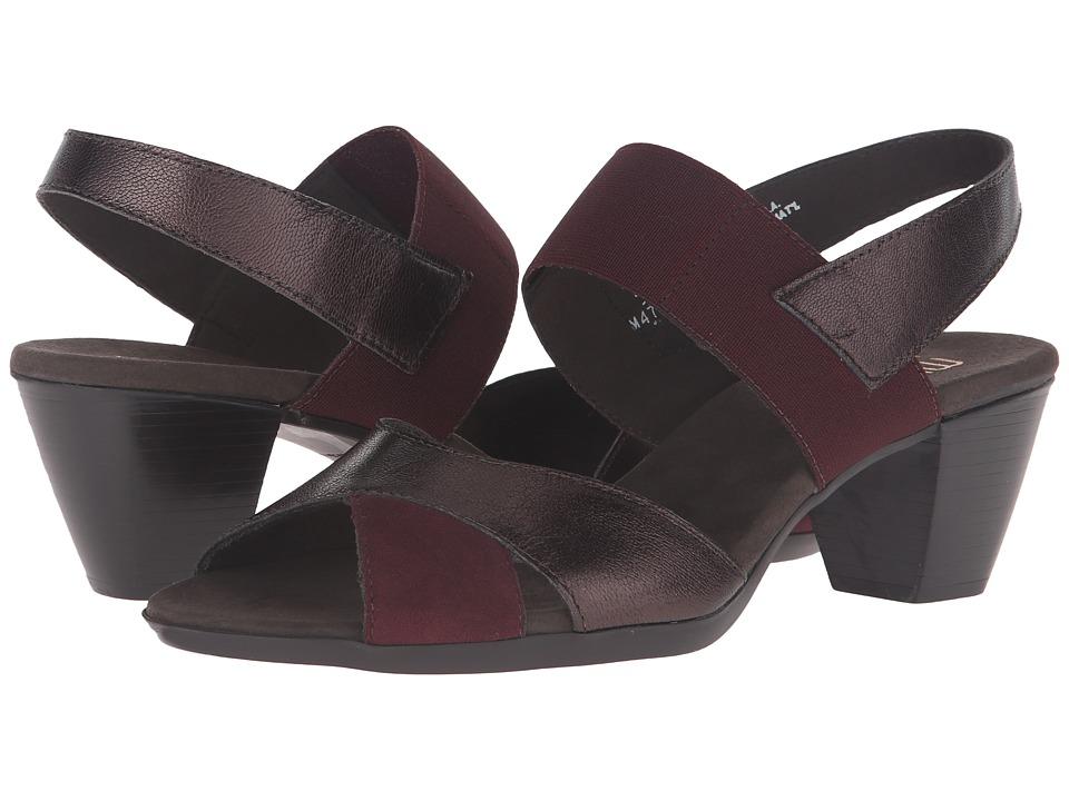 Munro - Darling (Wine Metallic) Women's Sling Back Shoes