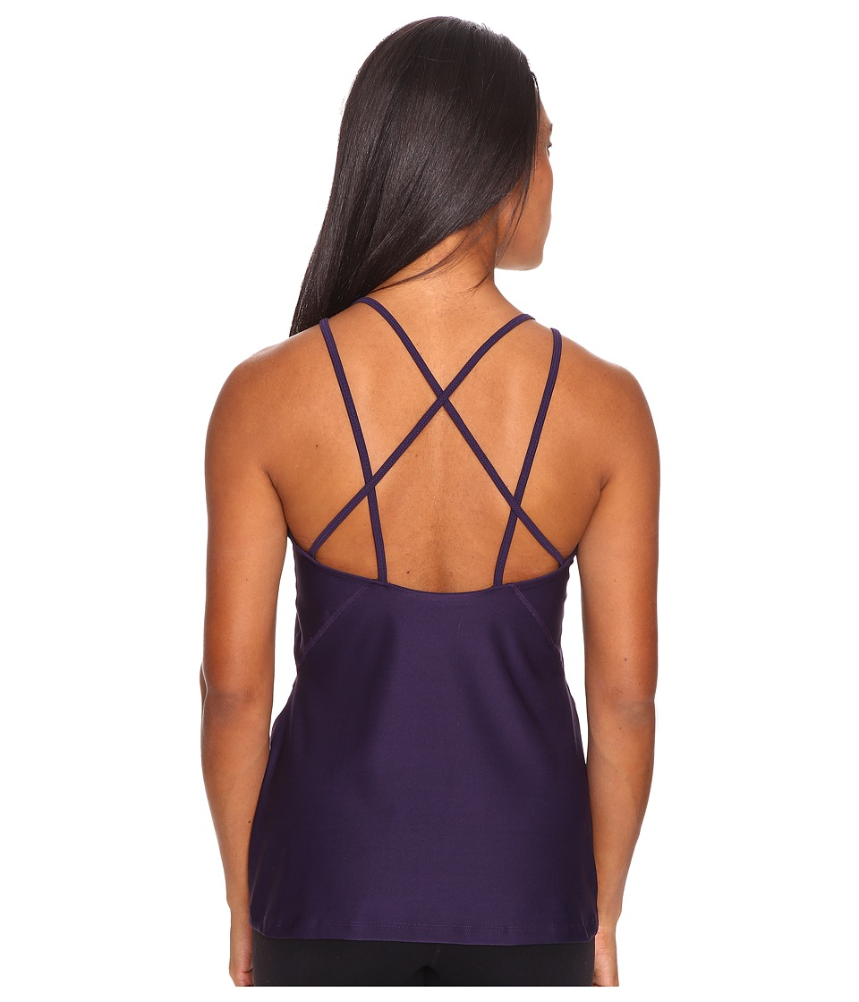 Nike - Strappy Training Tank (Purple Dynasty/Purple Dynasty) Women's Sleeveless