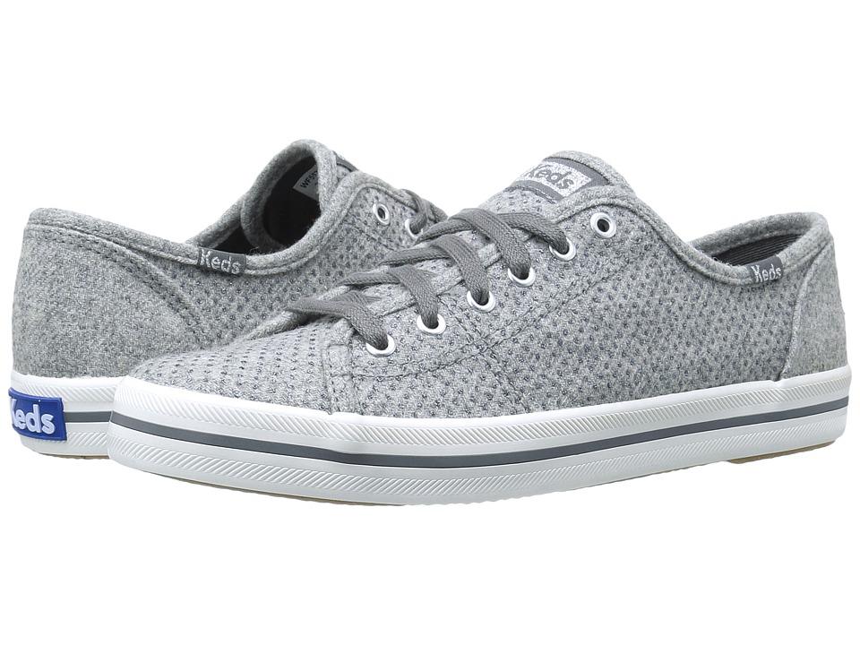 Keds Kickstart Glitter Wool (Grey) Women