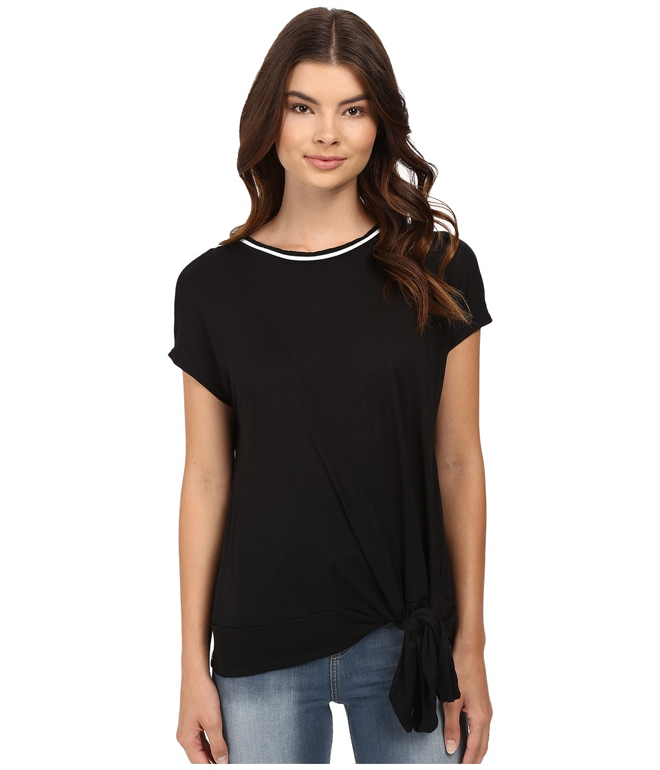 Bench - Malpais Knot Top (Jet Black) Women's Clothing