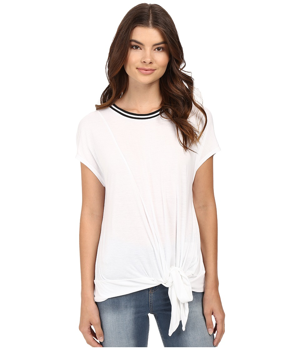 Bench - Malpais Knot Top (Bright White) Women's Clothing