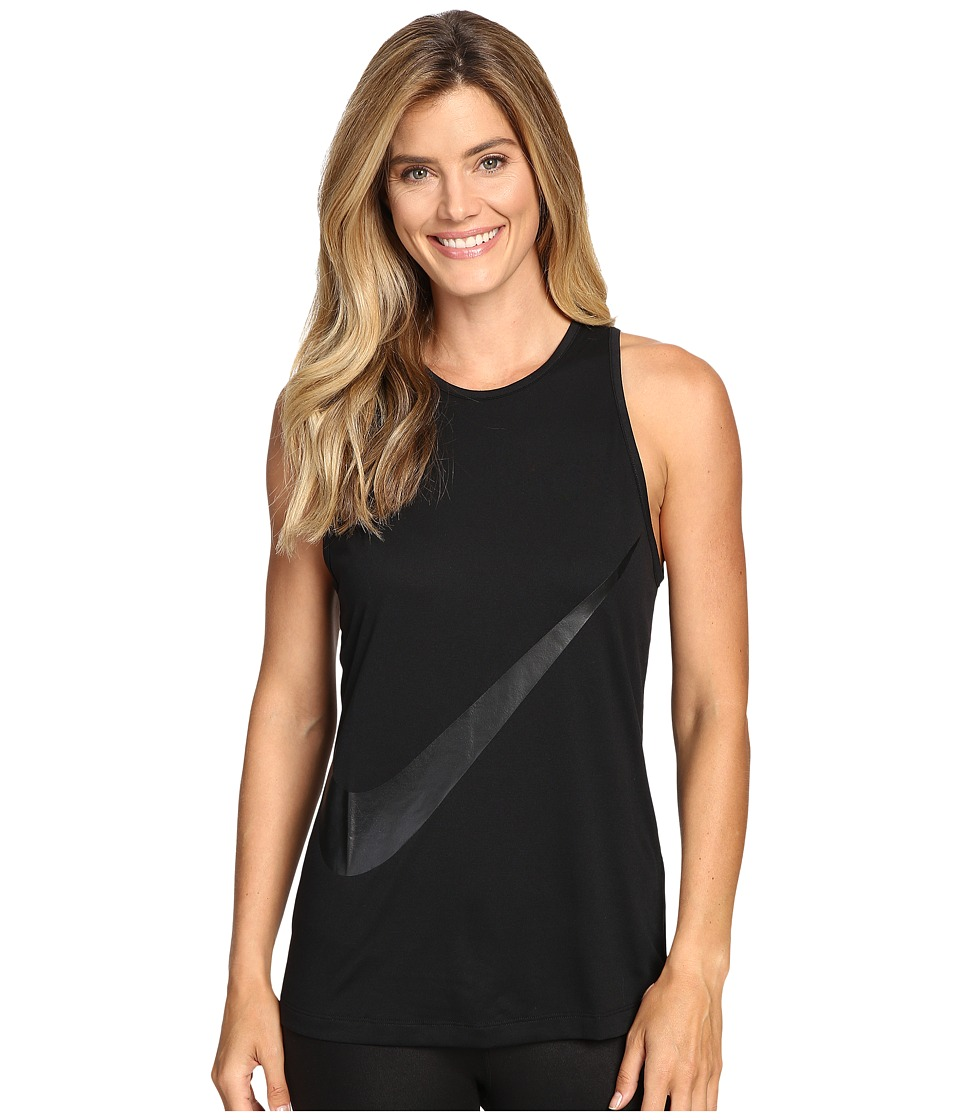 Nike - Tomboy GRX Tank Top (Black/Black) Women's Sleeveless